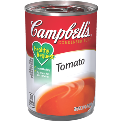 Canned Soup, Campbell's® Healthy Request® Tomato Soup (10.5 oz Can)