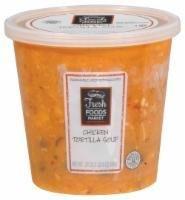 Fresh Soup, Fresh Foods Market® Chicken Tortilla Soup (24 oz Cup)