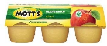 Apple Sauce, Mott's® Original Apple Sauce (6 Cups, 4 oz Cups)