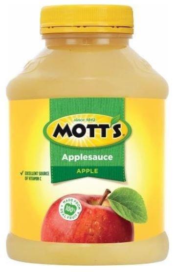 Apple Sauce, Mott's® Original Apple Sauce (48 oz Jar)
