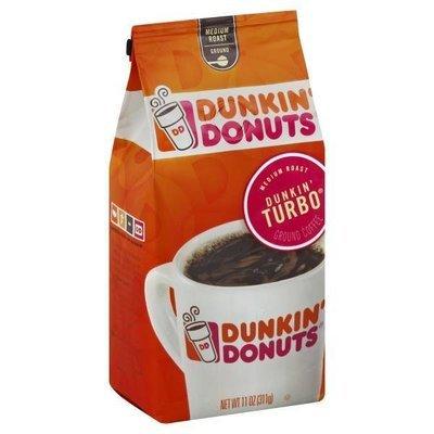 Ground Coffee, Dunkin' Donuts® Turbo™ Ground Coffee (12 oz Bag)
