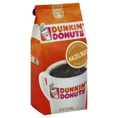 Ground Coffee, Dunkin' Donuts® Hazelnut® Ground Coffee (12 oz Bag)