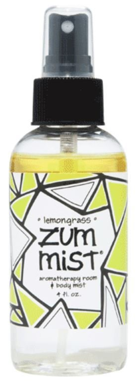 Aromatherapy, Zum Mist® Lemongrass Body Mist (4 oz Pump Bottle)