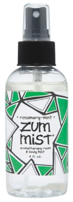 Aromatherapy, Zum Mist® Rosemary-Mint Body Mist (4 oz Pump Bottle)