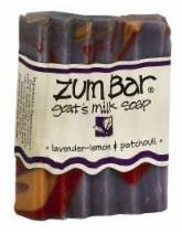Soap, Zum Bar® Lavender Lemon Goats Milk Soap (3 oz Bar)