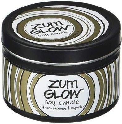 Candle, Zum Glow® Soy Candle, Frankincense-Myrrh (7 oz Canister)