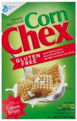 Cereal, General Mills® Chex® Corn Cereal (12 oz Box)