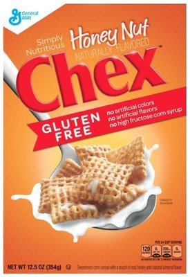 Cereal, General Mills® Chex® Honey Nut Cereal (12.5 oz Box)