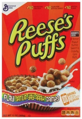 Cereal, General Mills® Reese's Puffs® Cereal (11.5 oz Box)