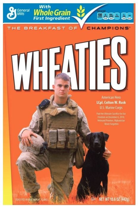 Cereal, General Mills® Wheaties® Cereal (15.6 oz Box)
