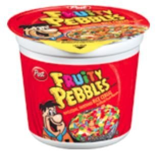Cereal, Post® Pebbles™ Fruity Cereal (2 oz Cup)