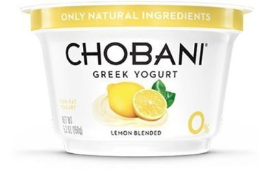 Yogurt, Chobani® Greek Lemon 0% Yogurt (5.3 oz Cup)
