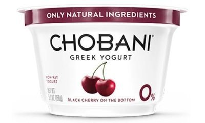 Yogurt, Chobani® Greek Black Cherry 0% Yogurt (5.3 oz Cup)