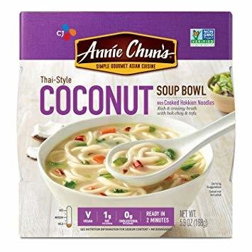 Soup, Annie Chun's® Thai-Style Coconut Soup Bowl ( 5.9 oz Box)