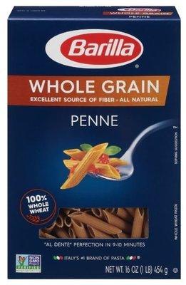 Pasta, Barilla® Whole Grain Penne Pasta (16 oz Box)