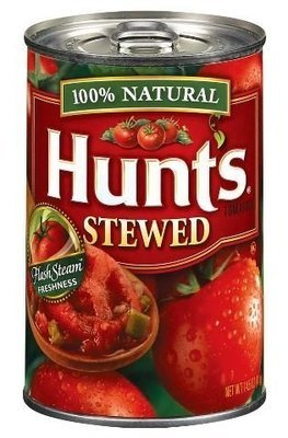 Canned Tomato, Tomatoes, Hunt's® Stewed Tomatoes (14.5 oz Can)