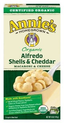 Mac N Cheese Pasta, Annie's® Organic Alfredo Shells & Cheddar Macaroni & Cheese (6 oz Box)