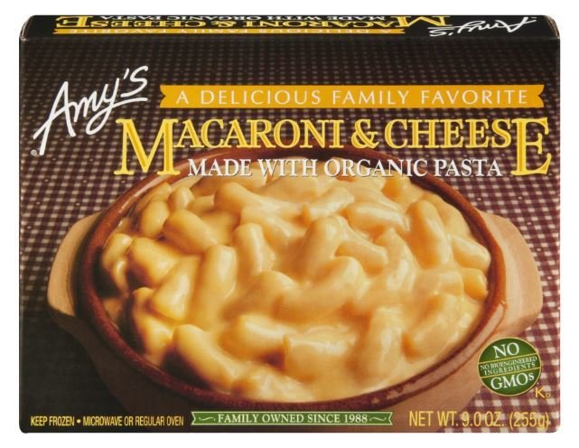 Mac N Cheese Dinner, Amy's® Organic Mac & Cheese (9 oz Box)