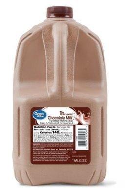 Dairy Milk, Great Value® Chocolate Milk (1 Gallon Jug)
