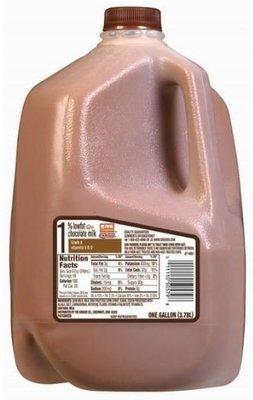 Dairy Milk, King Soopers® 1% Low Fat Chocolate Milk (1 Gallon Jug)