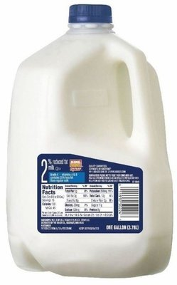 Dairy Milk, King Soopers® 2% Reduced Fat Milk (1 Gallon Jug)