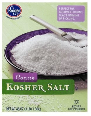 Seasonings, Kroger® Coarse Kosher Salt (48 oz Box)
