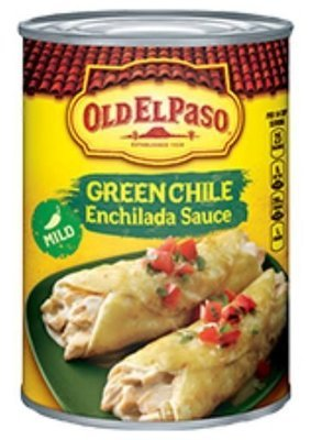 Enchilada Sauce, Old El Paso® Mild Green Chile Enchilada Sauce (10 oz Can)