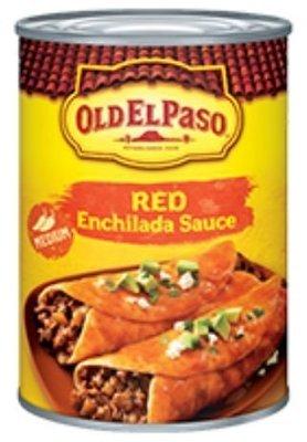 Enchilada Sauce, Old El Paso® Medium Red Enchilada Sauce (10 oz Can)