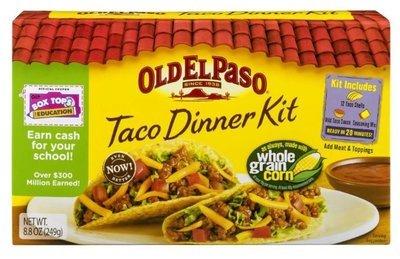 Taco Dinner Kit, Old El Paso® Taco Dinner Kit (12 Shells, 8.8 oz Box)