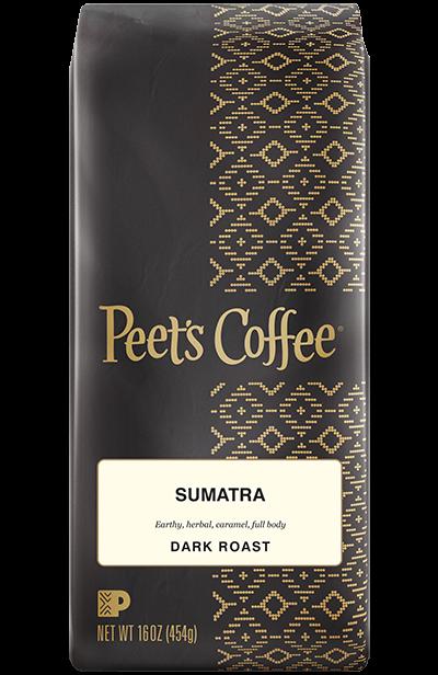 Ground Coffee, Peet's Coffee® Sumatra Ground Coffee (12 oz Bag)