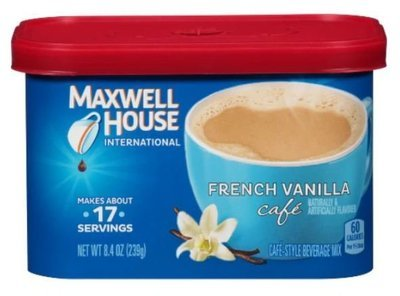 Coffee, Maxwell House® International Cafe, French Vanilla (8.4 oz Tub)