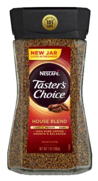 Instant Coffee, Nescafe® Taster's Choice® Instant Coffee (7 oz Jar)