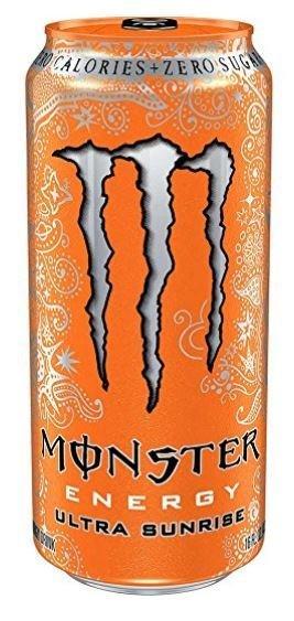 Energy Drink, Monster® Ultra Sunrise™ Energy Drink (16 oz Can)