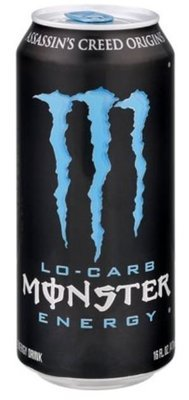 Energy Drink, Monster® Lo Carb™ Energy Drink (16 oz Can)