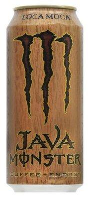 Energy Drink, Monster® Loca Moca Coffee + Energy™ Drink (15 oz Can)