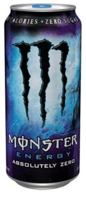 Energy Drink, Monster® Absolutely Zero™ Energy Drink (16 oz Can)