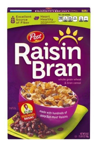 Cereal, Post® Raisin Bran™ Cereal (25 oz Box)
