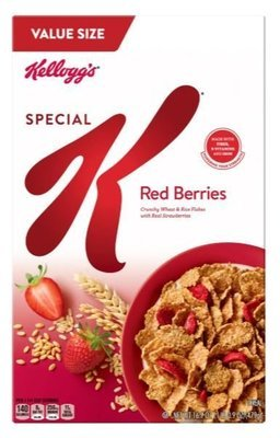 Cereal, Kellogg's® Special K® Red Berries Cereal (Value Size-16.9 oz Box)
