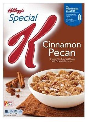 Cereal, Kellogg's® Special K™ Cinnamon Pecan Cereal (12.1 oz Box)