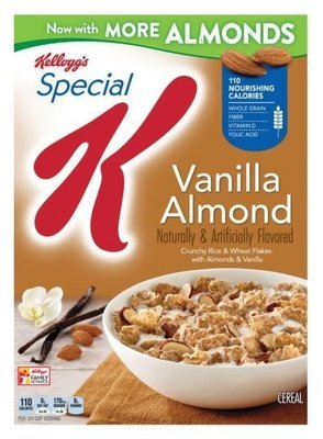 Cereal, Kellogg's® Special K™ Vanilla Almond Cereal (12.4 oz Box)