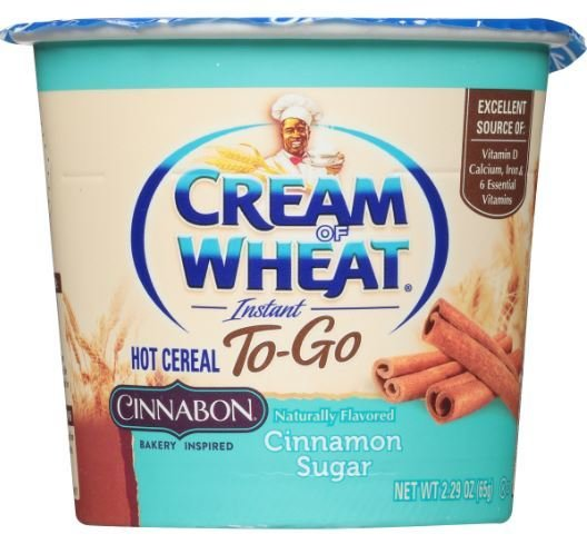 Hot Cereal, Cream of Wheat® Cinnabon® Hot Cereal (2.29 oz Cup)