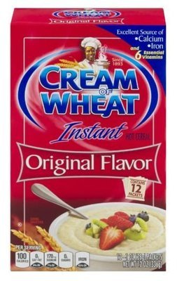 Hot Cereal, Cream of Wheat® Original Hot Cereal (12 Count of 1 oz Packets, 12 oz Box)