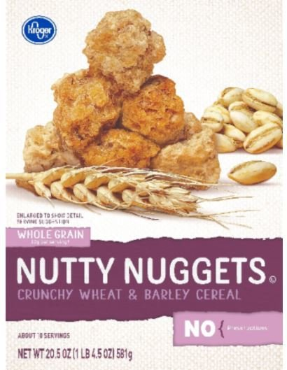 Cereal, Kroger® Nutty Nuggets Cereal (20.5 Box)