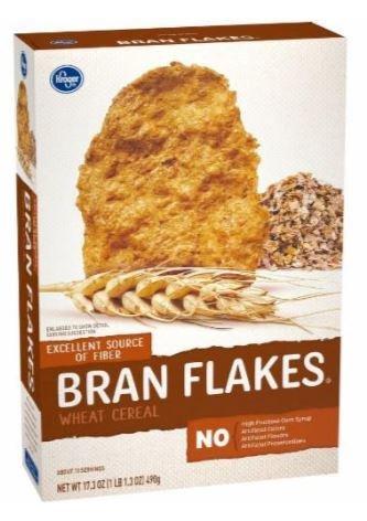 Cereal, Kroger® Bran Flakes Cereal (17.3 oz Box)