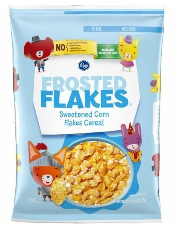Cereal, Kroger® Frosted Flakes Cereal (28 oz Bag)
