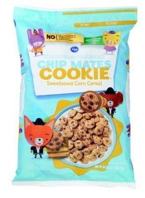 Cereal, Kroger® Chip Mates Cookie Sweetened Corn Cereal (28 oz Bag)