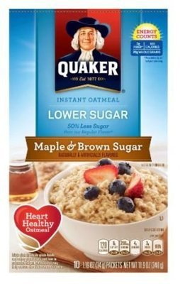 Hot Cereal, Quaker® Instant Oatmeal
