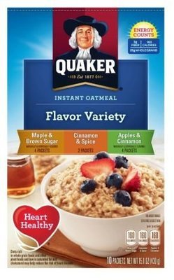 Hot Cereal, Quaker® Instant Oatmeal Variety Pack