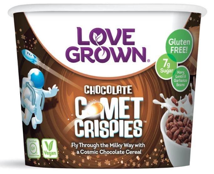 Cereal, Love Grown® Comet Crispies™ Cereal (Single Serve 1.1 oz Cup)