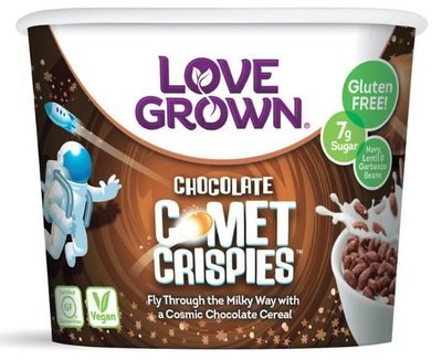 Cereal, Love Grown® Comet Crispies™ Cereal (Single Serve 1.1 oz Cup)